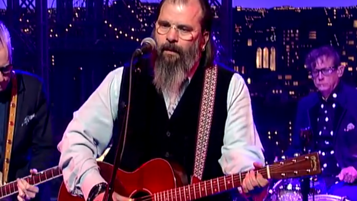 Watch Steve Earle Bring His 'Lover' to 'Letterman'