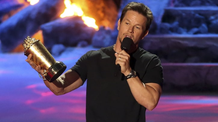 Mark Wahlberg Swears His Way Through MTV Movie Awards