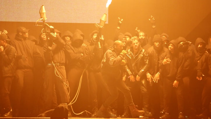 BRIT Awards 2015: 5 Essential Moments From a Night of Flamethrowers and Falls