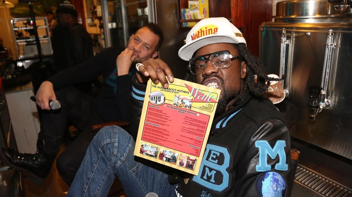 Wale Previews 'Seinfeld'-Themed Album at Tom's Restaurant Party