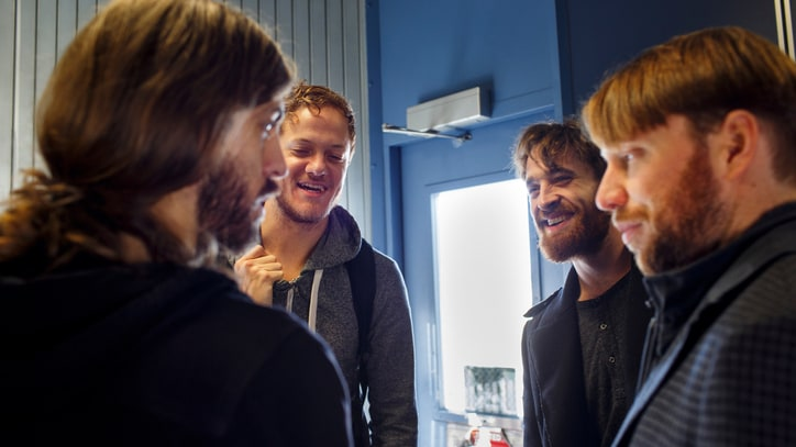 Flying High With Imagine Dragons: Behind an Intimate Show at 30,000 Feet