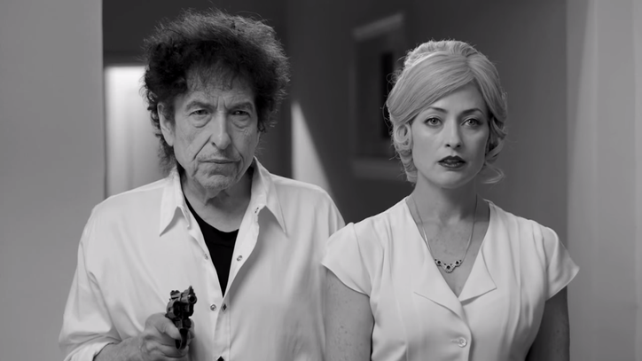 Watch Bob Dylan Navigate a Bloody Love Triangle in New Video