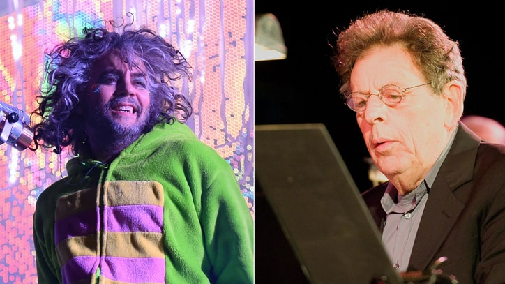 Wayne Coyne and Philip Glass Talk Bowie, Beatles, Tibet House Memories