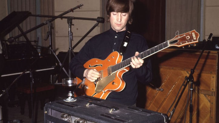 John Lennon's 'Paperback Writer' Guitar Sells for $530K to Colts Owner