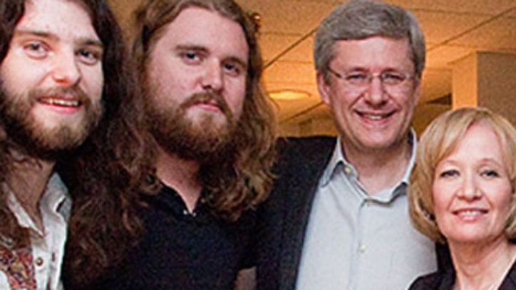 Sheepdogs Get the Blessing of Canadian Prime Minister