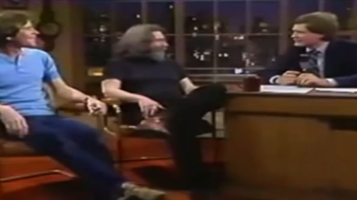 Flashback: Jerry Garcia and Bob Weir Visit 'Letterman' in 1982