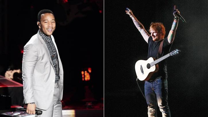 John Legend, Ed Sheeran Join U.N. to Create 'World's Happiest Playlist'