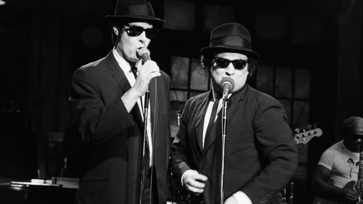 Dan Aykroyd, John Belushi's Widow Launch Blues Brothers Label