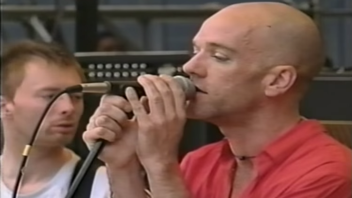 Flashback: Michael Stipe Fronts Radiohead at Tibetan Freedom Concert