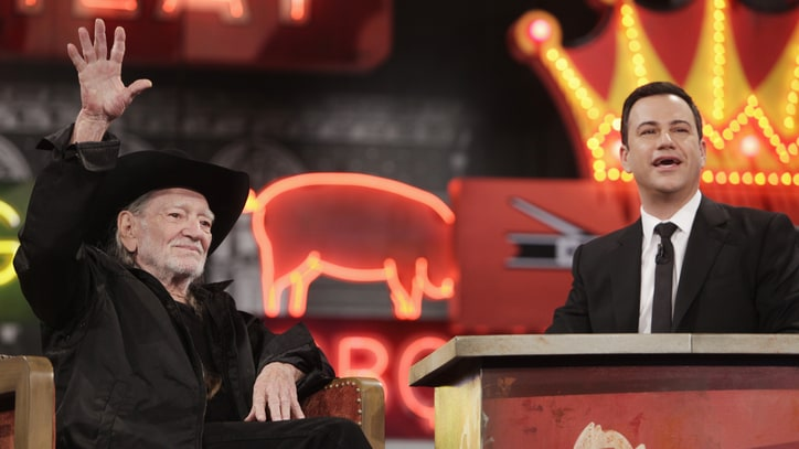 Watch Willie Nelson Score 'High' Grade on Jimmy Kimmel's 'Pot Quiz'