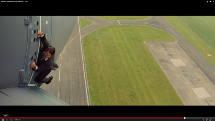 Watch Tom Cruise Hang From a Plane in 'Mission: Impossible 5' Trailer