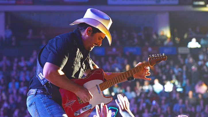 Hear Brad Paisley 'Crush It' on Eric Clapton's 'Layla'