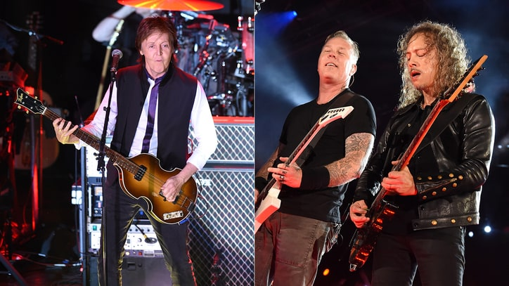 Lollapalooza 2015: Paul McCartney, Metallica Headline Lineup