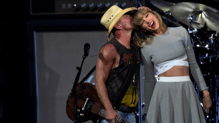 Watch Kenny Chesney Duet With Taylor Swift, Joe Walsh at Tour Opener