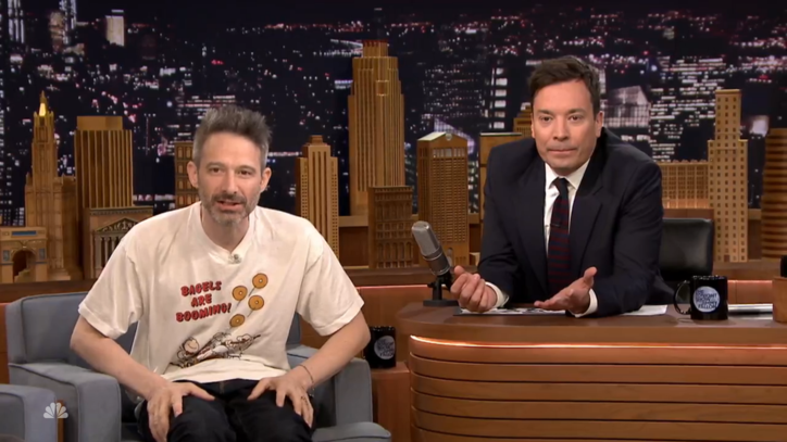 Ad-Rock Makes First Ever Solo Talk Show Visit to 'Tonight Show'