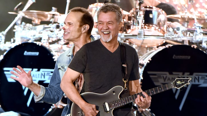 Bloodied Van Halen Play Wild, Reckless Set on 'Jimmy Kimmel Live'