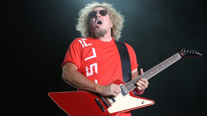 Watch Sammy Hagar and the Circle Tear Through 'When It's Love'