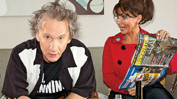 Bill Maher on Palin, Pot and Patriotism