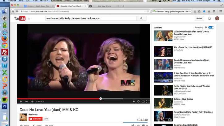 Flashback: Martina McBride and Kelly Clarkson Soar on 'Does He Love You'