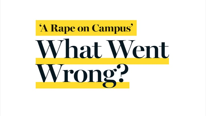 Rolling Stone and UVA: The Columbia University Graduate School of Journalism Report