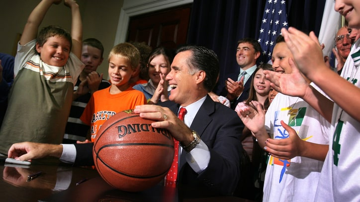 Mitt Romney in Top 1 Percent of March Madness Pool