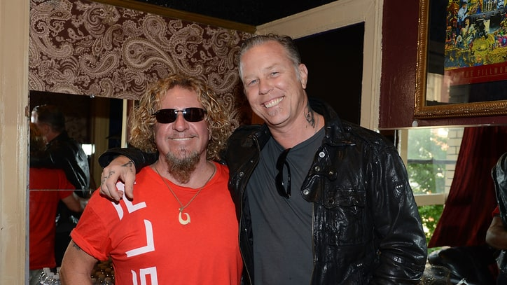 James Hetfield, Sammy Hagar Headline San Francisco's Acoustic-4-A-Cure Event