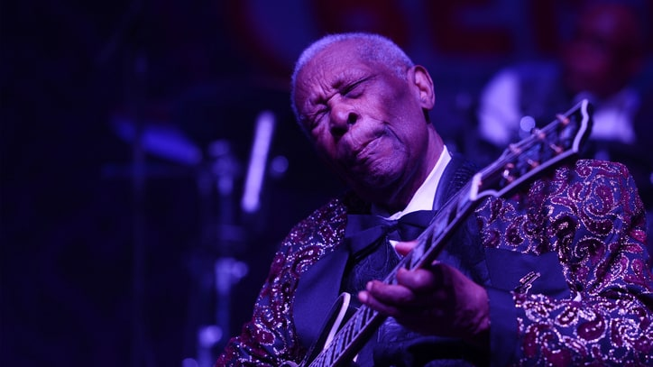 B.B. King Hospitalized for Diabetes-Related Dehydration