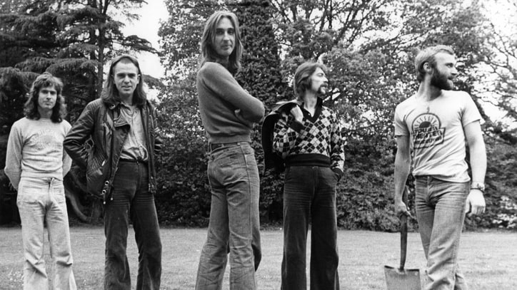 Flashback: Peter Gabriel Reunites With Genesis in 1982