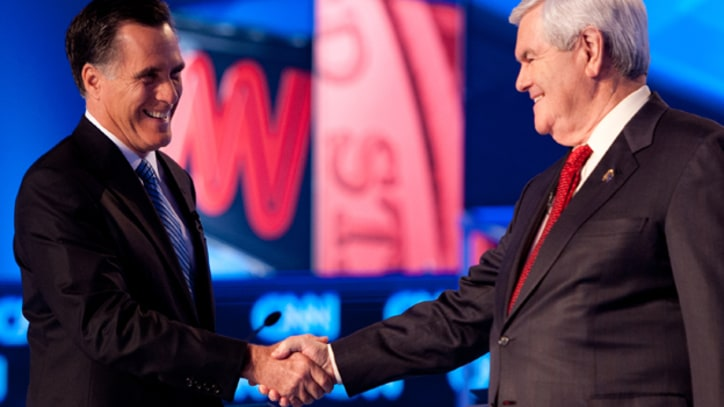 The Odd Couple: Romney Vs. Gingrich