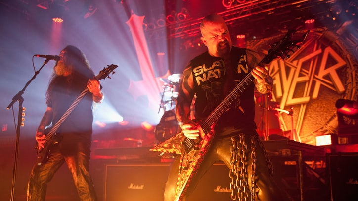 Watch Slayer Confirm Rockstar Mayhem Festival Gig in New Video