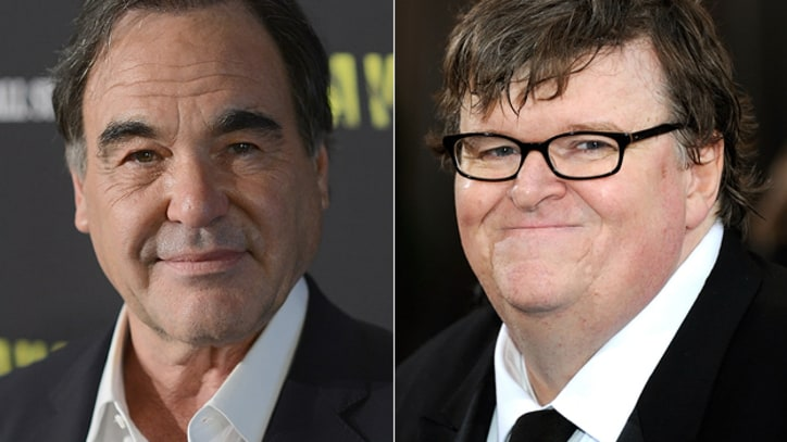Oliver Stone and Michael Moore Support Julian Assange in Op-Ed