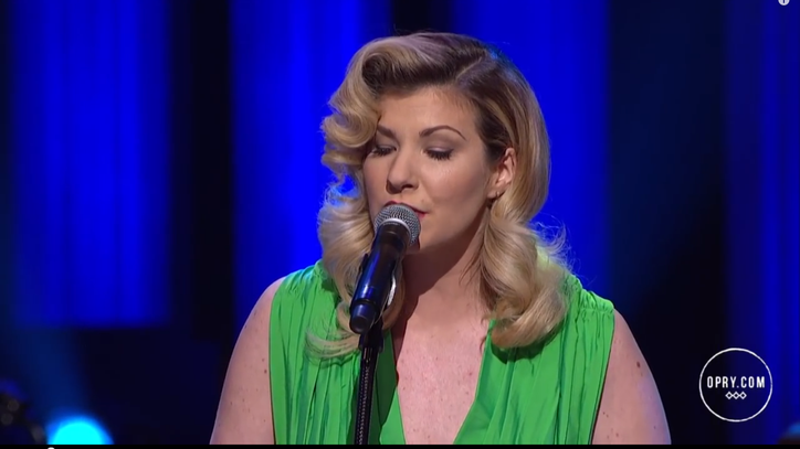 Watch Emily West Play Intoxicating 'Games' on the Opry