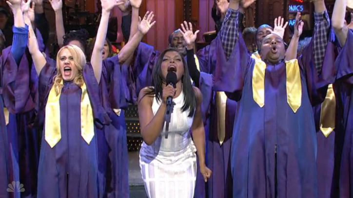 Taraji P. Henson on 'SNL': 3 Sketches You Have to See