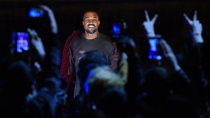 Watch Kanye West Jump Into Lake During Armenian Performance