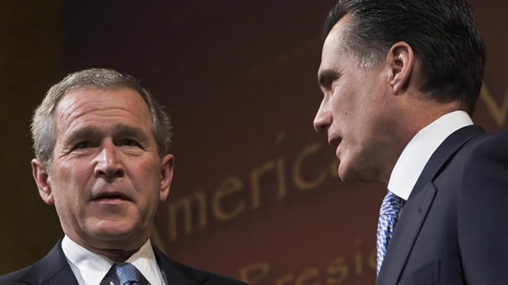 18 Ways Mitt Romney Is Just Like George W. Bush