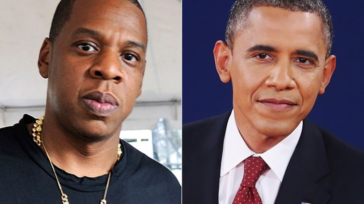Obama Offers Jay-Z Advice on Raising Blue Ivy