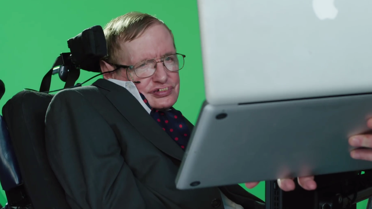 Hear Stephen Hawking Sing Monty Python's 'Galaxy Song'