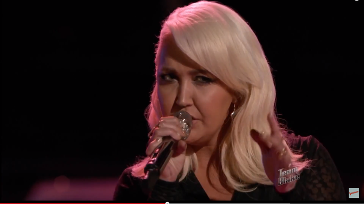 Watch 'The Voice' Finalist Meghan Linsey Pour Serious Soul Into 'Girl Crush'