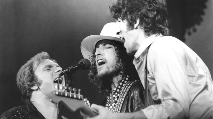 Flashback: Bob Dylan and the Band Play 'Hazel' in Rare 'Last Waltz' Video