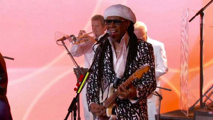 Watch Nile Rodgers and Chic Transform 'Kimmel' Into Disco