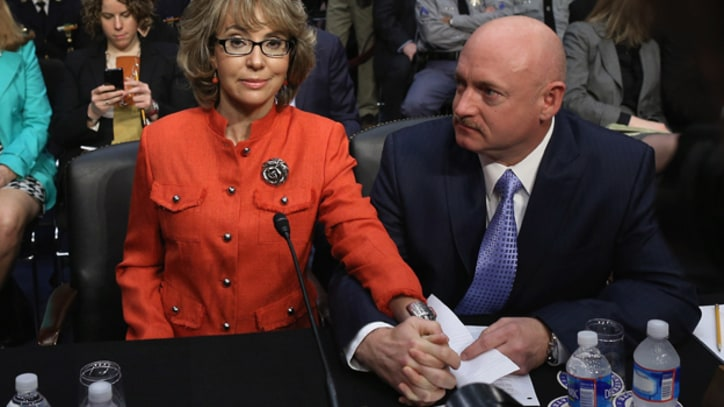 Gabby Giffords Speaks on Gun Control: 'The Time Is Now'
