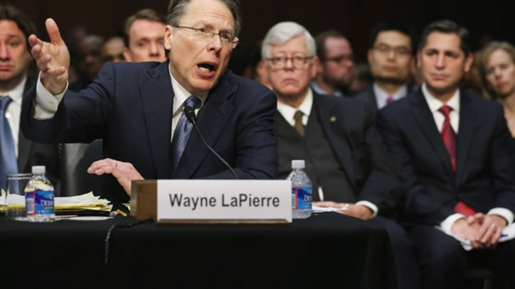 Wayne vs. Wayne: When the NRA Chief Endorsed Gun Control in Schools