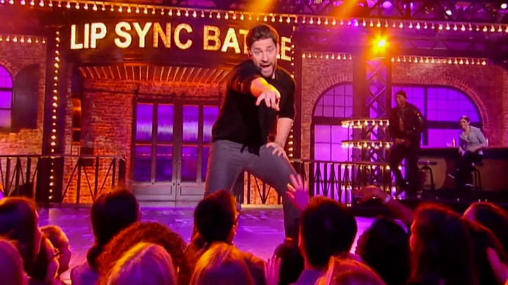 Watch John Krasinski Nail N'Sync's 'Bye Bye Bye' on 'Lip Sync Battle'