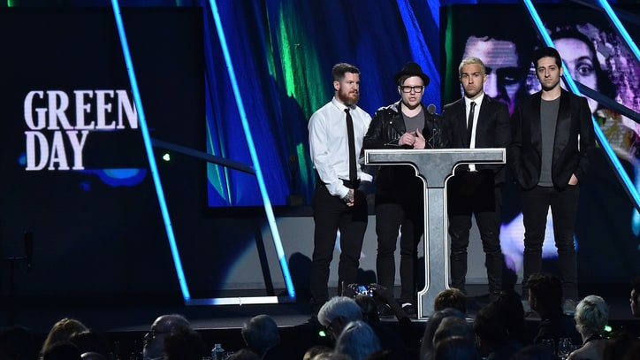 Read Fall Out Boy's Loving Green Day Tribute at Rock and Roll Hall of Fame