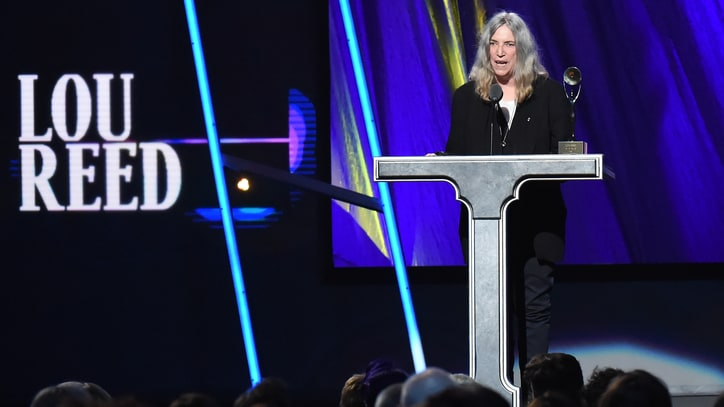 Watch Patti Smith's Poignant Lou Reed Rock Hall Induction Speech