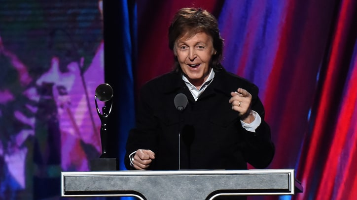 'Ringo Nailed It': Paul McCartney Inducts Starr Into Rock Hall of Fame