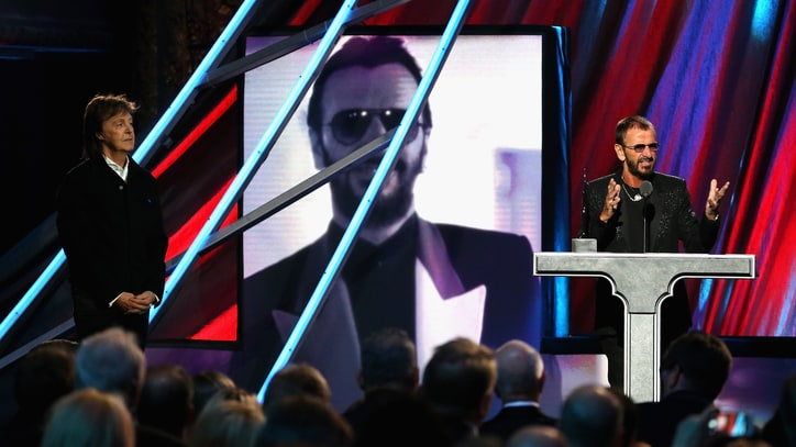 Watch Ringo Starr's Jovial Rock and Roll Hall of Fame Induction Speech