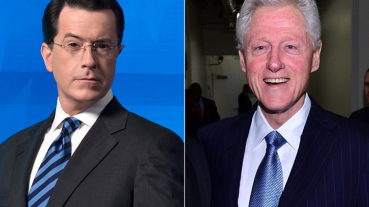 Bill Clinton Books Interview with Stephen Colbert