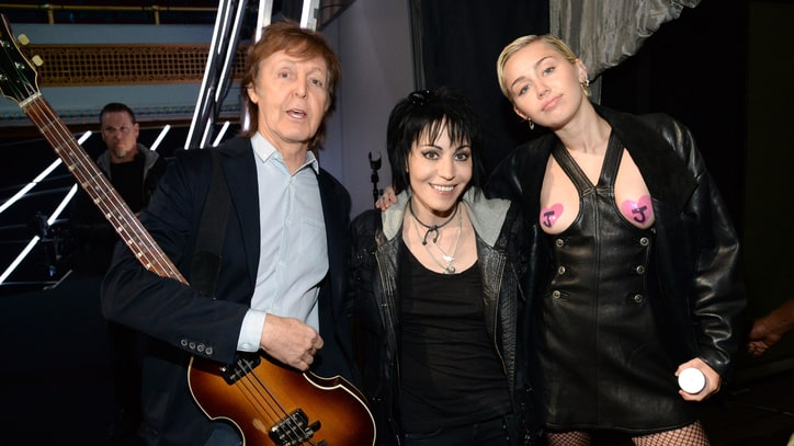 Joan Jett on Jamming With Paul McCartney at Rock Hall: 'It's Very Surreal'