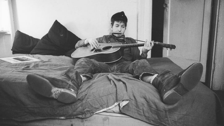 Bob Dylan at Home: See Rare, Intimate Photos From the Sixties